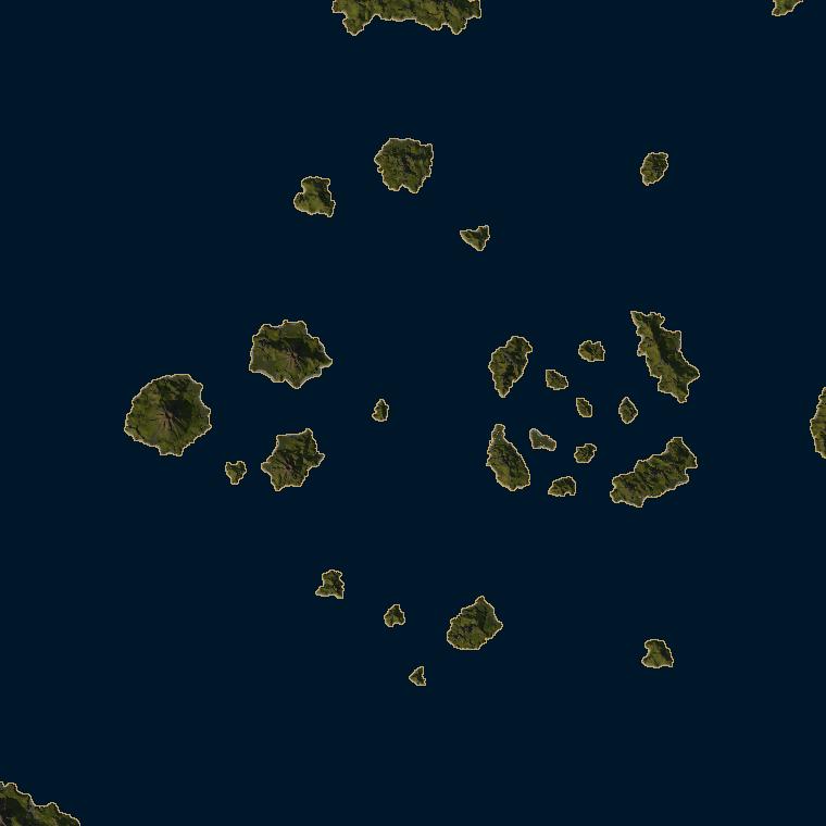 <b><font style='font-size:25px'>Край вулканов</font></b><br> Тропические воды где-то в Меланезии.