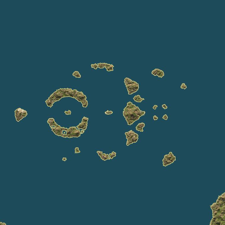 <b><font style='font-size:25px'>Спящий гигант</font></b><br> Сочетание различных путей между островами. Район акватории близ Китая.