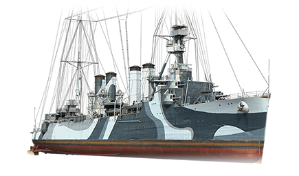 WoWS Stats & Numbers - ASIA - Marblehead - Warships detailed