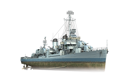 WoWS Stats & Numbers - EU - Kidd - Warships detailed