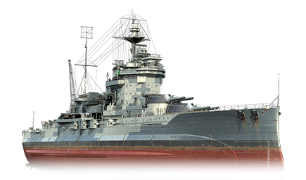 WoWS Stats & Numbers - EU - Warspite - Warships detailed