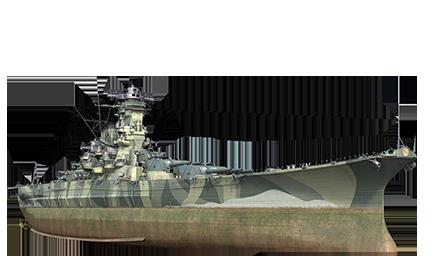 WoWS Stats & Numbers - EU - Musashi - Warships detailed