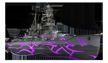 WoWS Stats & Numbers - EU - ARP Kongō - Warships detailed