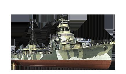 WoWS Stats & Numbers - NA - Yūbari - Warships detailed