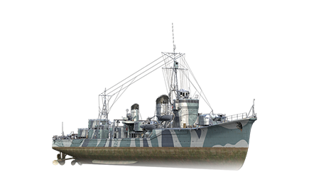 WoWS Stats & Numbers - ASIA - Asashio - Warships detailed