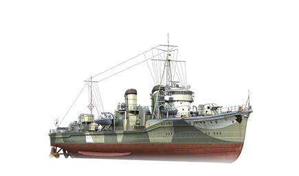 WoWS Stats & Numbers - EU - Shinonome - Warships detailed