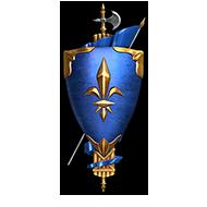 <b><font style='font-size:25px'>Marine Nationale II</font></b><br> Одержите победу в25боях, при этом войдите втоп-3 своей команды поколичеству заработанного опыта.<br>Выполняется в Случайных боях на кораблях Франции VIII-X уровней.