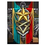 <b><font style='font-size:25px'>Мастер Ранговых боёв II</font></b><br> Получите 70звёзд запобеды вРанговых боях. Учитывается только первое получение звезды всезоне.<br>Выполняется в Ранговых боях на кораблях I-X уровней.