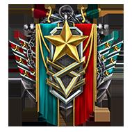 <b><font style='font-size:25px'>Мастер Ранговых боёв I</font></b><br> Получите 140звёзд запобеды вРанговых боях. Учитывается только первое получение звезды всезоне.<br>Выполняется в Ранговых боях на кораблях I-X уровней.
