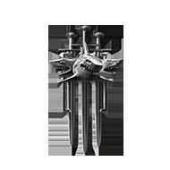 <b><font style='font-size:25px'>Мастер Клановых боёв III</font></b><br> Одержите победу в 90 боях в лиге Бури или выше.<br>Выполняется в Клановых боях на кораблях I-X уровней.