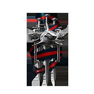 <b><font style='font-size:25px'>Мастер Клановых боёв II</font></b><br> Одержите победу в 90 боях в лиге Шторма или выше.<br>Выполняется в Клановых боях на кораблях I-X уровней.