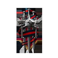 <b><font style='font-size:25px'>Мастер Клановых боёв I</font></b><br> Одержите победу в 90 боях в лиге Тайфуна или выше.<br>Выполняется в Клановых боях на кораблях I-X уровней.